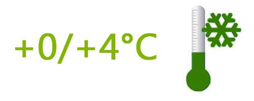 Frais (+0°C à +4°C)
