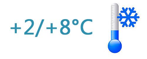 Frais  (+2°C à +8°C)