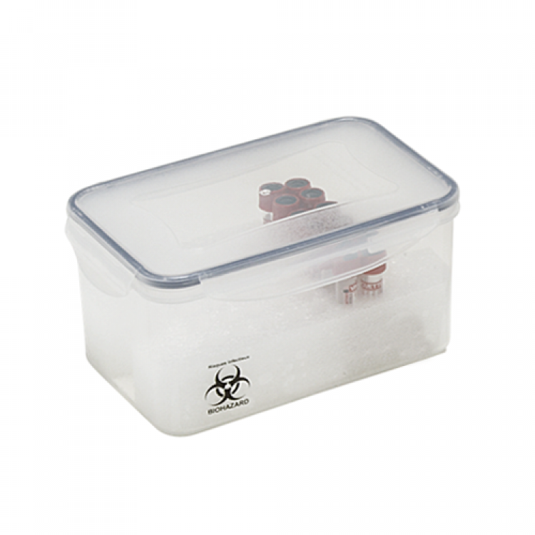 Boite de prelevements UN3373 Pluribox 2.4L