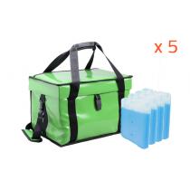 Lot de 5 sacoches refrigerantes +2/+8°C Hygiene
