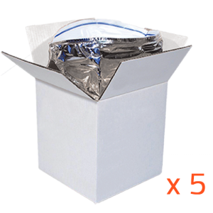 Lot de 5 Airbagliners 40 litres- Isothermes