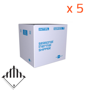 Lot 5 Initial Box 7L - 38h (utile 2.1L) Dry Ice