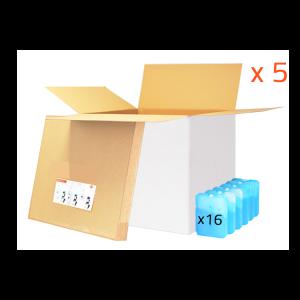 Lot 5 BOX 100L - 24h (utile 66.6L) PHARMA