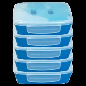 Lot de 5 lunchboxes -1