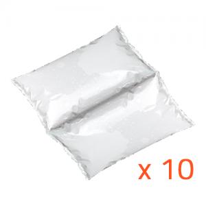 Lot de 10 accumulateurs de froid souples (1500gr)