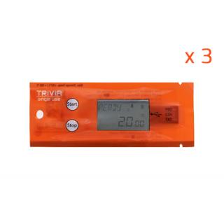 Trivia - Enregistreur de température programmable à la demande - Usage unique